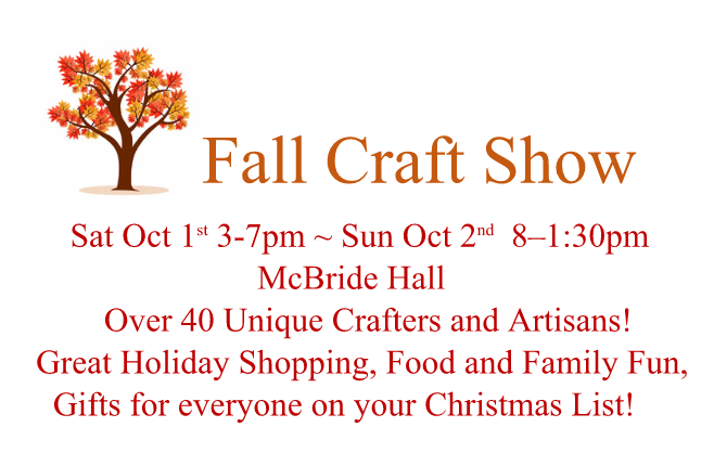 Fall Craft show