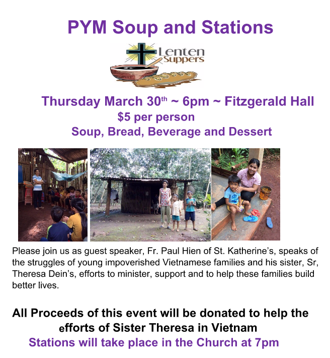 PYM Soup and Stations