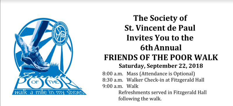 Join Us For The 2018 Friends Of The Poor Walk St Katherine Of